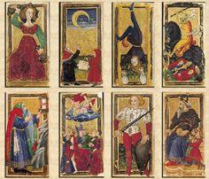 Les premières traces des cartes à jouer que l'on peut trouver en Europe remontent à la fin du XIVe siècle.