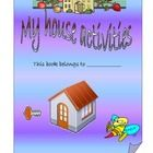 Worksheets ment for practice house, furniture vocabulary. The book consists of matching tasks (in the living room, in the kitchen, in the bedroom);...