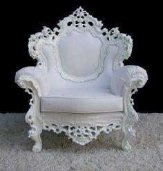 new baroque design armchair BAROQUE SNOW David Style