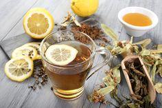 Ceai din ingrediente naturale cu miere si lamaie