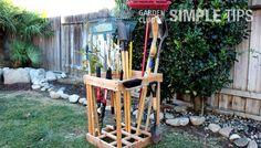 Get Organized: DIY Garden Tool Storage | Garden Club