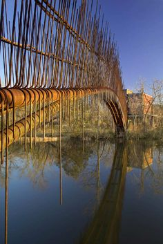 Miró Rivera Architects, Paul Finkel   Piston Design · Pedestrian Bridge