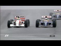 formula 1 donington '93 - ayrton senna mago della pioggia