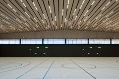 Image 2 of 26 from gallery of Lussy Sport Hall / Virdis Architecture. Photograph by Jantscher Thomas