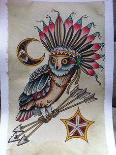 owl by Jon Garber