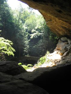 #94 Grandma Gatewood Trail - Old Man's Cave to Ash Cave: Begin walking the 5.0 miles from Old Man's Cave to Ash Cave and it won't take long to see why this is one of the state's most popular trails. Descend into Old Man's Creek Gorge and walk by rock features with such names as the Devil's Bathtub and the Sphinx Head. Explore Old Man's Cave, a large recess cave of blackhand sandstone, before continuing downstream in the gorge all the way to Cedar Falls, the area's highest-volume waterfall. man caves, cave gorg
