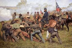 JACKSON AND HIS DESCIPLES Limited Edition Civil War Print by Bradley Schmehl