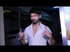 Shahid Kapoor at UDTA PANJAB's success party.