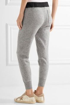 James Perse - Genie Cashmere Track Pants - Light gray - 3