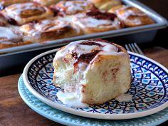Raspberry and Cream Cheese Rolls