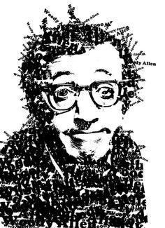 Illustration Woody Allen