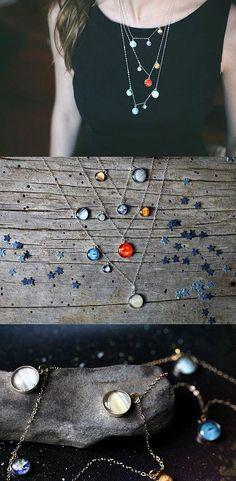 Galaksiden Bir Parçayı Üzerinizde Taşımanızı Sağlacak 20 Uzaylı Takı