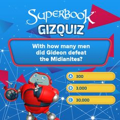 If you've read the story of Gideon in Judges 6-8, this #GizQuiz should be easy for you! 😇