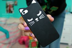 cat iphone case. ♡