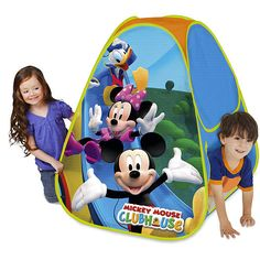 Disney Mickey Mouse Classic Hideaway Play Tent