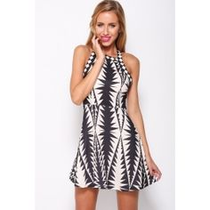 Where The Heart Is Dress Print