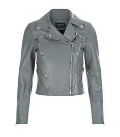 Harrods of London Classic Biker Jacket