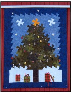 Christmas Tree Twister Quilt