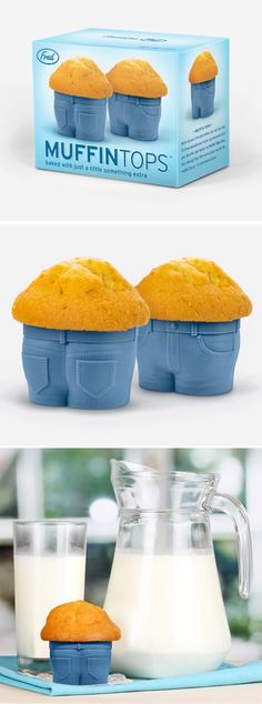 Muffin Tops Baking Cups are too funny #packaging : ) PD
