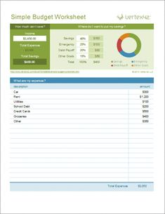 budget template Free Excel Budget Template Collection for Business and Personal Use Weekly Budget Template, Simple Budget Template, Household Budget Template, Budget Spreadsheet Template, Budget Templates, Sample Budget, Word Templates, Budget Worksheets Excel, Accounting