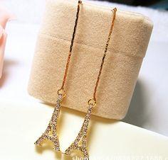2015 long earings Hollow tower women fashion In stock  US $12.99