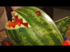 How To Carve A Watermelon Shark