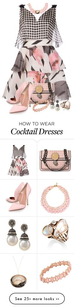 """""""In My Dreams - Gingham Floral Dress"""" by helenehrenhofer on Polyvore"""