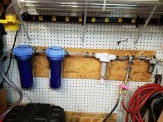 A DIY Air compressor Dryer Setup and it works.