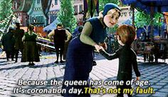 Just a few examples of why Frozen was fabulous and hilarious. [GIF]