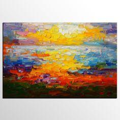 Abstract Art, Canvas Art, Modern Art, Canvas Painting, Abstract Landscape Painting, Abstract Painting, Oil Painting, Abstract Landscape Painting