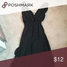 Silky formal dress Never worn, perfect for a dance or a wedding, has an elastic band under chest area Dresses