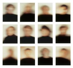 """cinoh:  """"Portraits"""" project (1984)By Patrick Tosani"""
