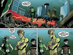 Young Justice Comic #17 - Kid Flash, Artemis, Robin