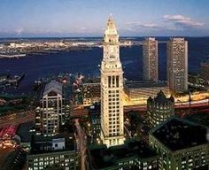 Custom House, Boston. My favorite place to stay in my favorite city to visit. It's almost 150 years old.. so incredible