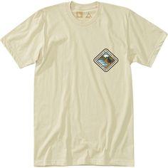 Hippy Tree Landmass T-Shirt ($30) ❤ liked on Polyvore featuring men's fashion, men's clothing, men's shirts, men's t-shirts, mens polka dot shirt, mens cotton shirts, mens t shirts, mens polka dot t shirt and mens graphic t shirts