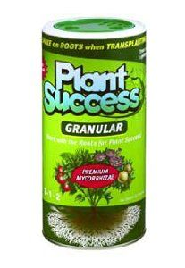 Plant Success Granular 32 oz. by Plant Success. Save 17 Off!. $29.71. Tricoderma and endo- and ectomycorrhizal fungi spores are the special ingredients in all-natural Plant Success Granular. These beneficial fungi combine with kelp meal, humus, vitamins and amino acids to encourage spore germination. Plant Success Granular improves soil structure, enhances root development and assists with nutrient and water uptake and retention. The result is stronger, healthier plants and increased o...