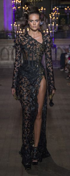 Eymeric Francois Fall-winter 2018-2019 - Couture - http://www.orientpalms.com/Eymeric-Francois-7260 - ©ImaxTree