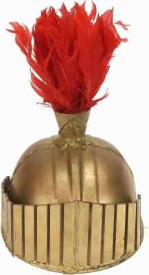How to Make a Kid's Paper Roman Soldier Helmet