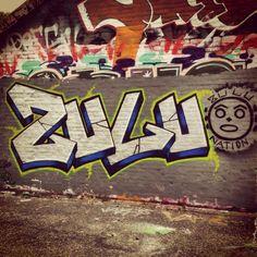 Zulu wall piece... (Old-school, hip hop heads)