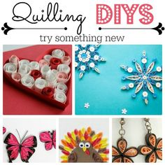 Easy Quilling Patterns