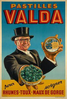 Vintage French Posters, Pub Vintage, Vintage Travel Posters, Vintage Food, 1950s Posters, Vintage Advertising Posters, Vintage Advertisements, Retro Ads, French Images