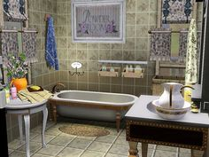 love this bathroom...from Sims3 house