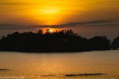 Sunrise over Isla Gómez  #gulfofchiriqui
