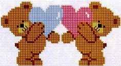 Fantastic Totally Free Cross Stitch punto de cruz Concepts Given that I have been cross punch appears considering I used to be a girl I occasionally believe that everyb Cross Stitching, Cross Stitch Embroidery, Embroidery Patterns, Cross Stitch Baby, Cross Stitch Animals, Cross Stitch Designs, Cross Stitch Patterns, Bear Template, Graph Paper Art
