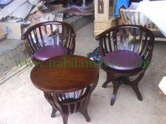 Kursi Teras Jati Mangkok produk dengan bahan baku kayu jati berkualtas yang kami akan memberikan kesan elegan serta natural.