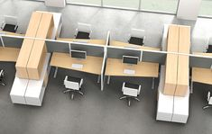 Adjustable Office Furniture for Enjoying and Comfortable Work Time Open Office Design, Open Space Office, Office Interior Design, Office Spaces, Office Table, Office Workspace, Corporate Interiors, Office Interiors, Home Office Furniture
