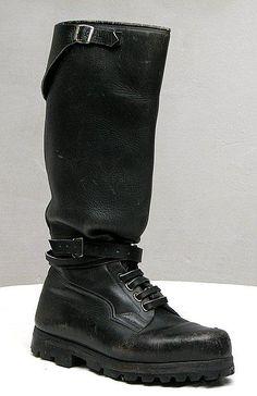 Schuhe & Stiefel Original Bw Seestiefel Marine Stiefel Leder Knobelbecher Schuhe Motorradstiefel
