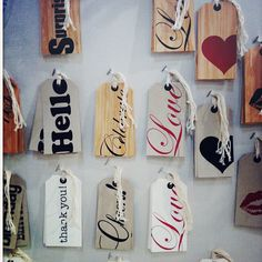 LOVE these tags! inspiration (photo only)