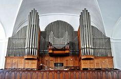 Orgel in de Groote kerk te Kaapstad