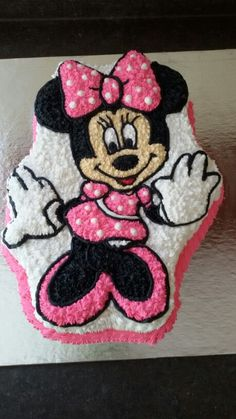 Minnie mouse cake♡♡♡